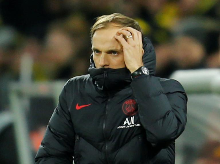 Paris Saint-Germain coach Thomas Tuchel defends tactics after Champions League loss to Dortmund