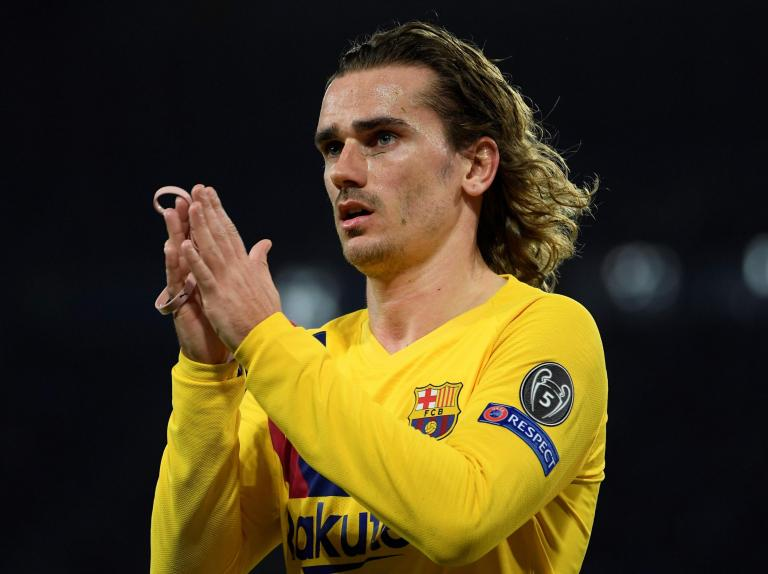 Antoine Griezmann scores second-half equaliser as Barcelona battle back to draw with Napoli