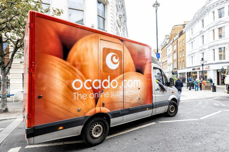 Ocado sales jump 40 per cent as coronavirus lockdown prompts online grocery shopping surge