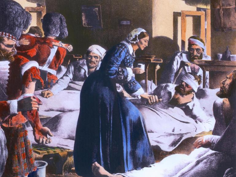 How Florence Nightingale spent her time in self-isolation