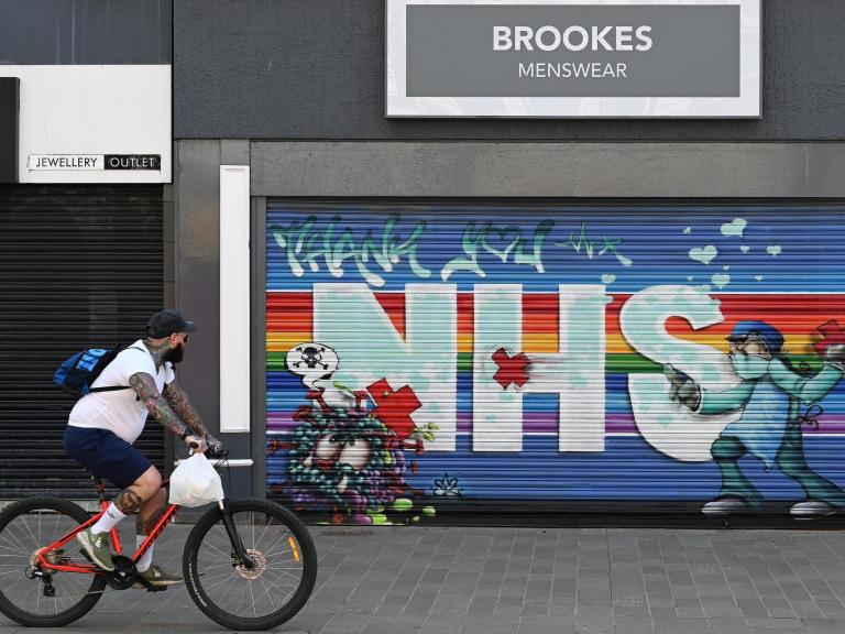 UK economy shrinks at fastest pace in more than a decade in first three months of year