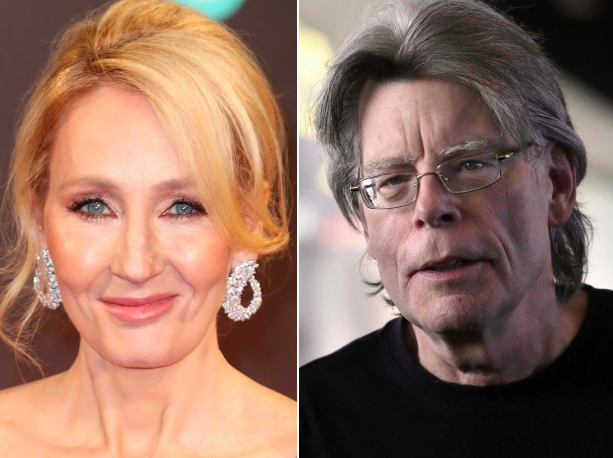 JK Rowling deletes tweet praising Stephen King after he supports trans women
