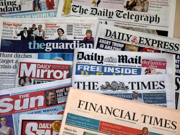 Reach: Daily Mirror and Daily Express publisher to cut 550 jobs as sales fall