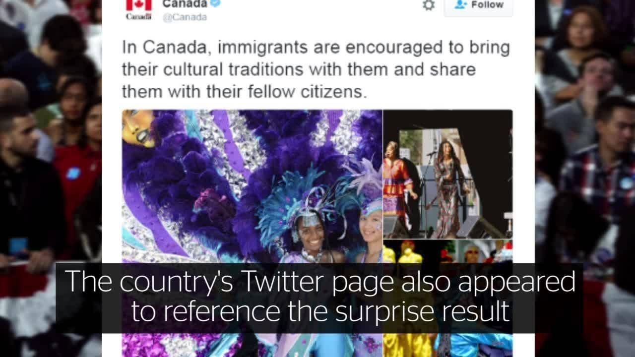 How To Move To Canada Immigration Website Crashes As Donald Trump