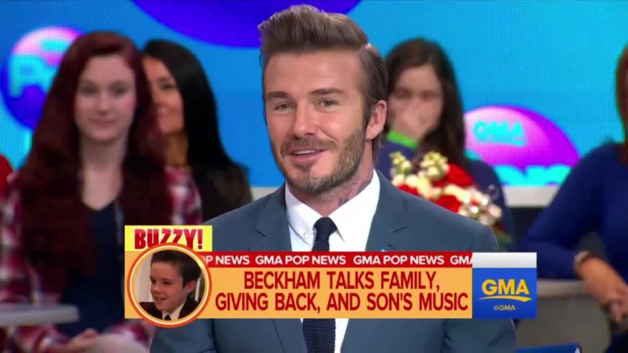 Beckham s eldest son dating the wrong