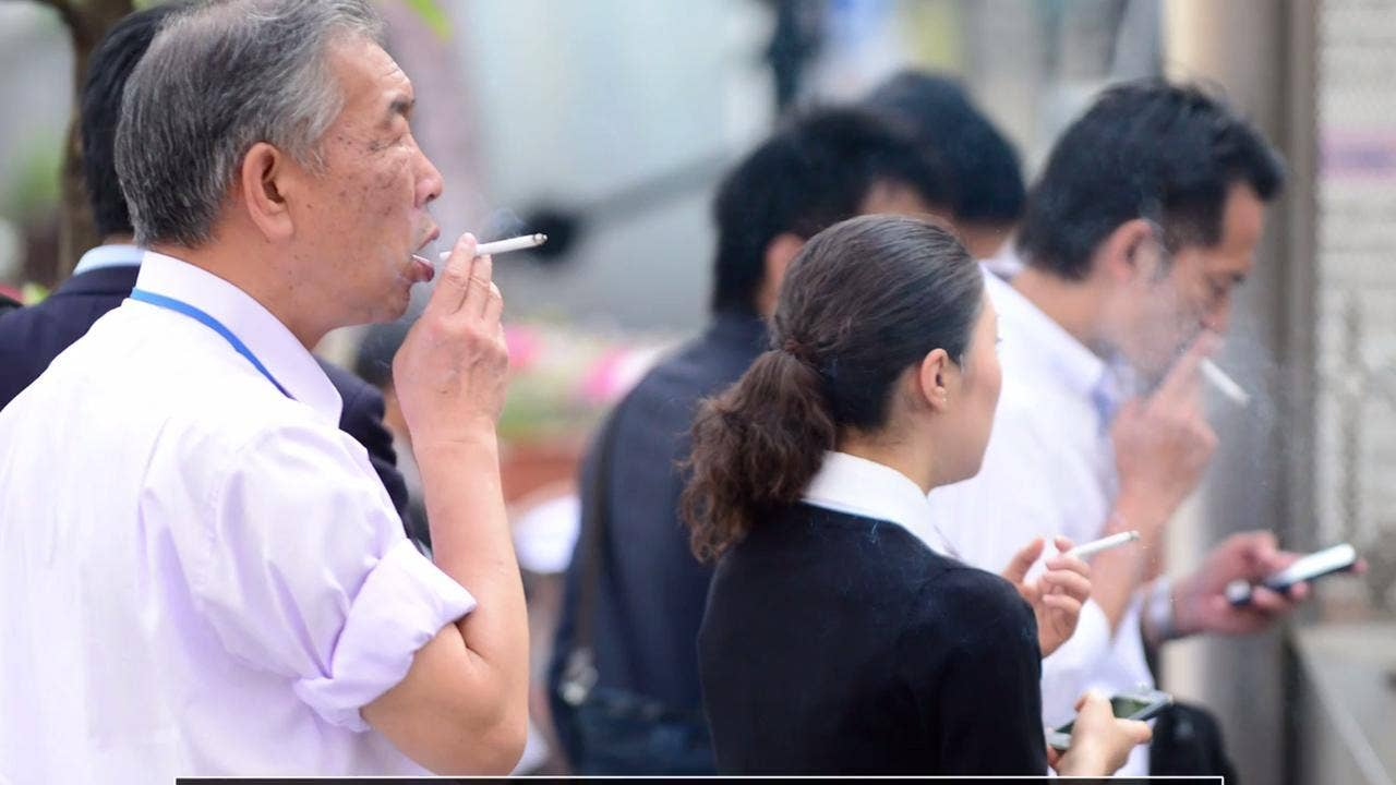 Japanese Firm Gives Non Smokers Extra Six Days Holiday To Compensate Club Car Wiring Diagrams 48 Volts Yellow Wires Drivers Side For Cigarette Breaks The Independent