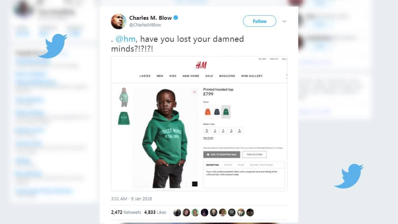 The H&M advert clearly didn\'t mean to be racist – which is worrying ...