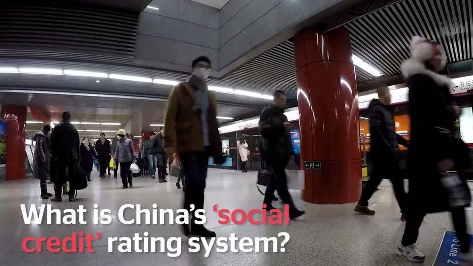 China blacklists millions of people from booking flights as 'social credit' system introduced