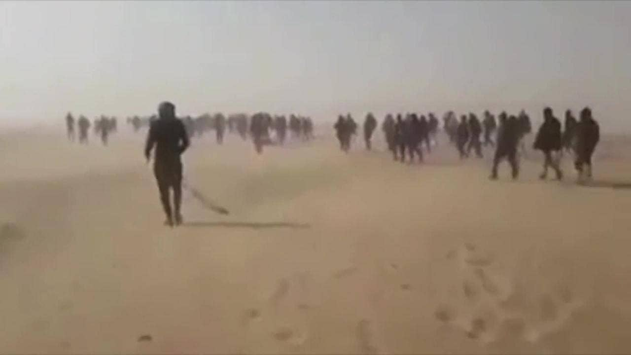 Algeria was accused of leaving 13,000 migrants, including pregnant women and children, in the desert 3