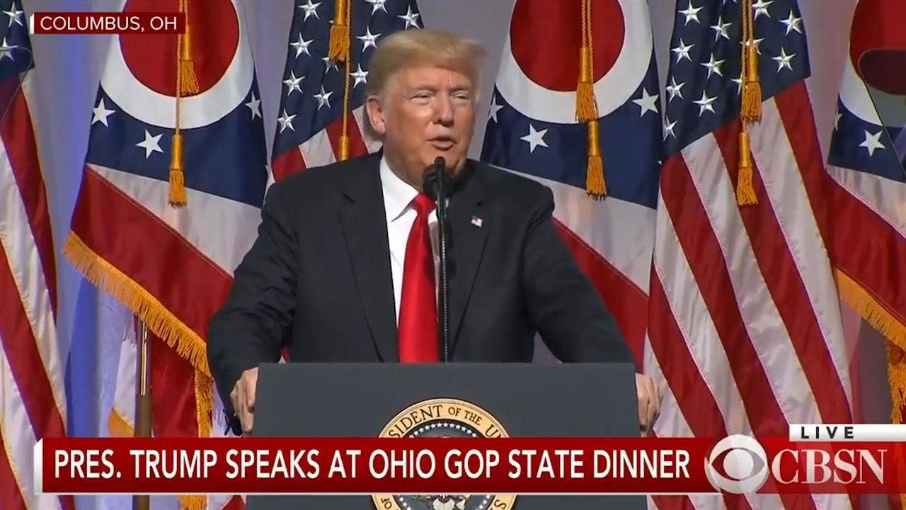 Trump Rambles About Kanye West And Jim Jordan But Fails To Mention