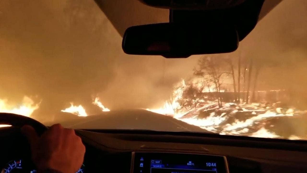 independent.co.uk - Peter Stubley - 'I want great climate,' says Trump as he tours area devastated by California wildfires