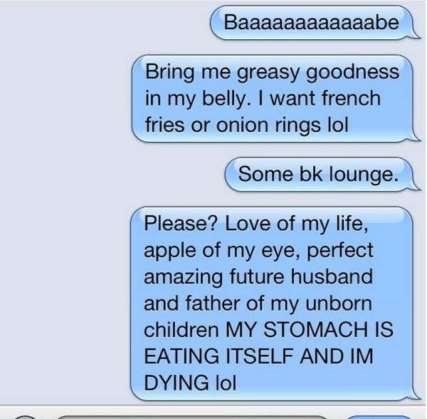 The 11 Most Cringeworthy Texts Couples Have Sent Each Other