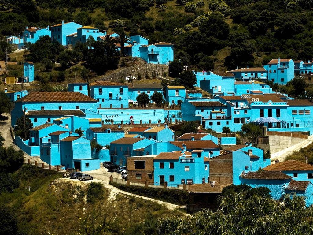 Spanish village happy to be left feeling blue by Smurfs | The ...