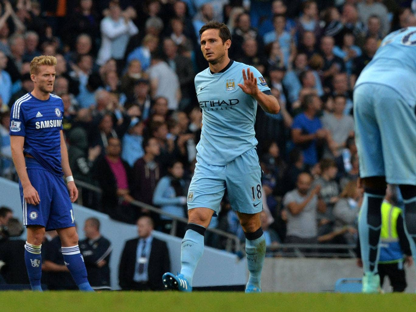Image result for lampard mancity goal chelsea