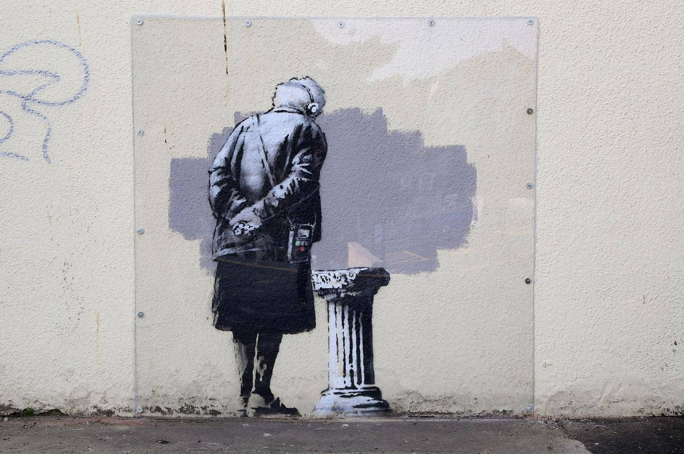Internet Duped By Banksy Arrest Hoax  C B