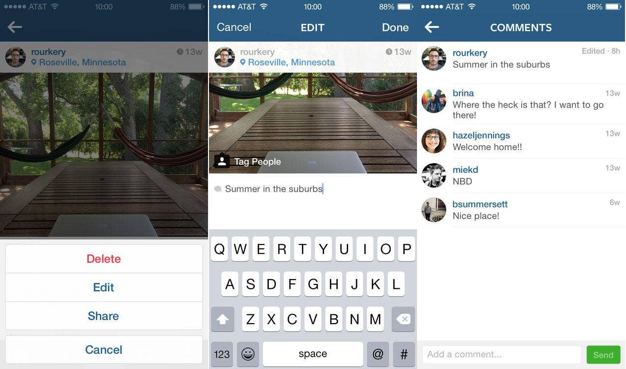 Instagram finally lets you edit captions on uploaded photos | The ...