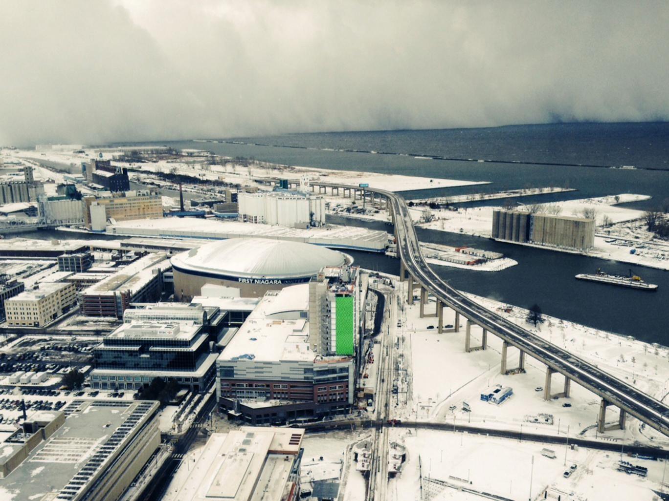 Watch Watch Snow Blanket Buffalo, NY, in Breathtaking Time-Lapse Video video