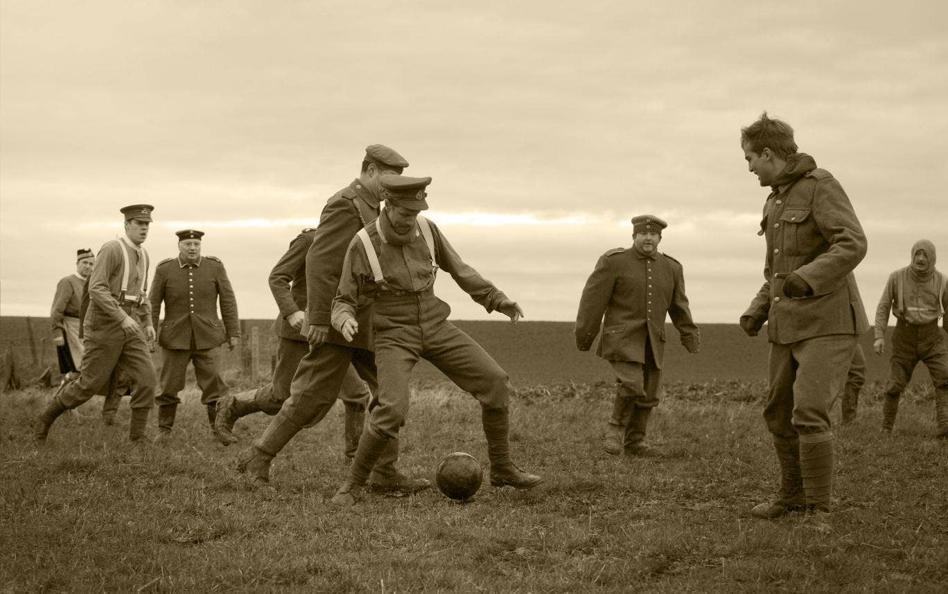 War and football