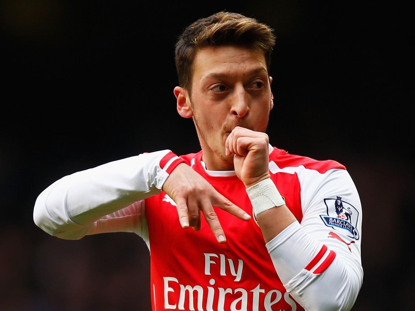 Mesut Ozil Goal Celebration Explained: Arsenal Midfielder
