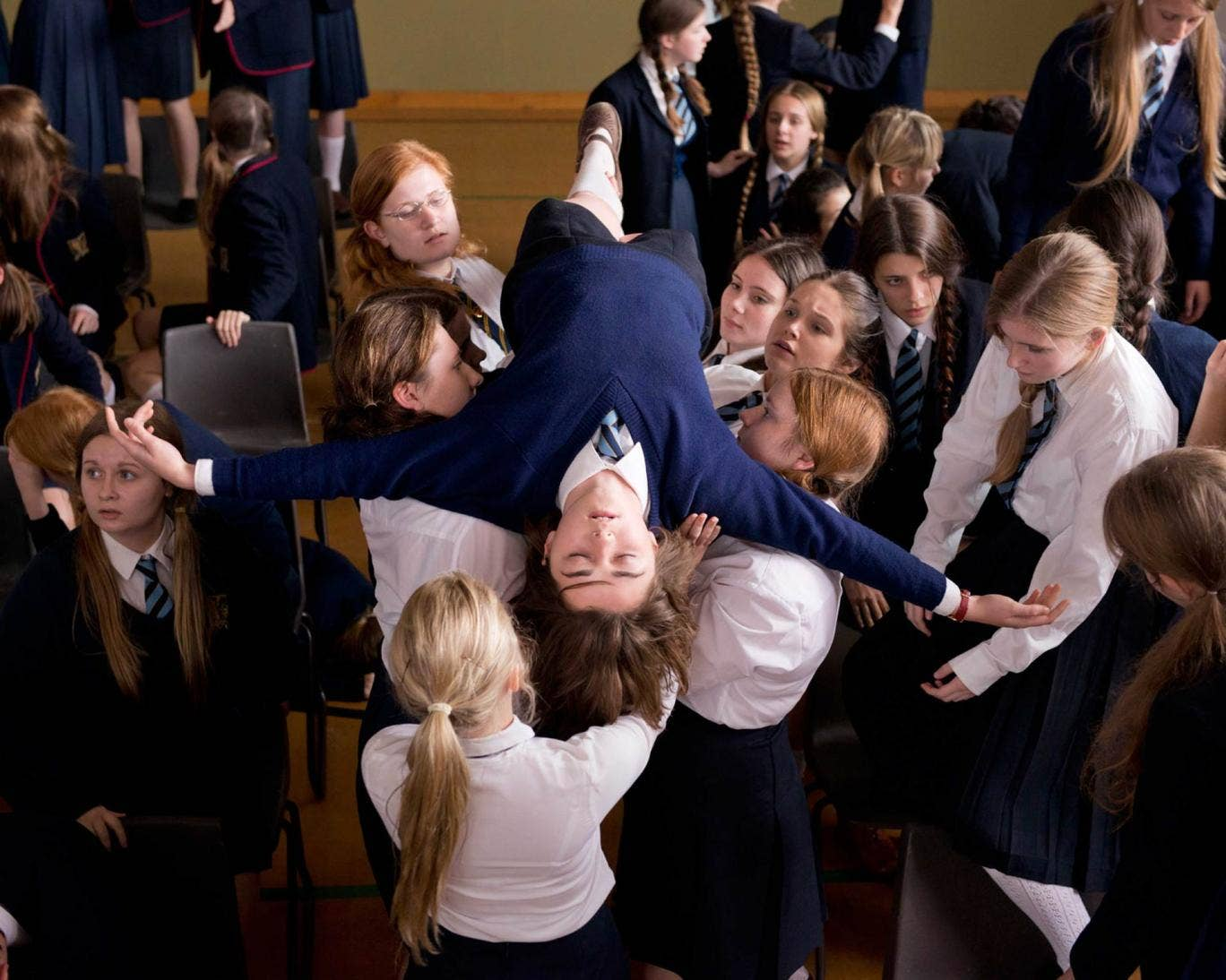 Mysterious Mass Fainting Affects 40 High School Students advise