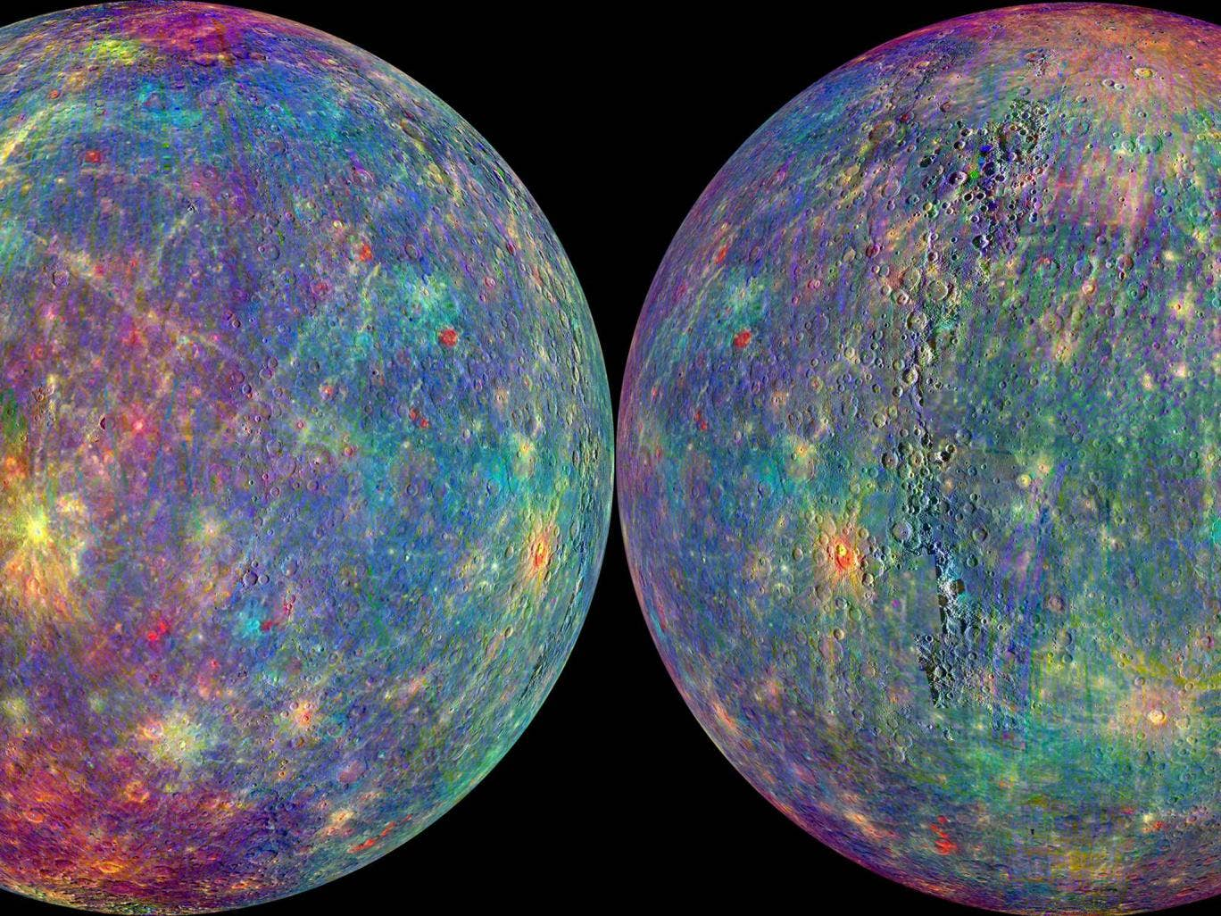 Solar system Exploration - Mercury - In pictures