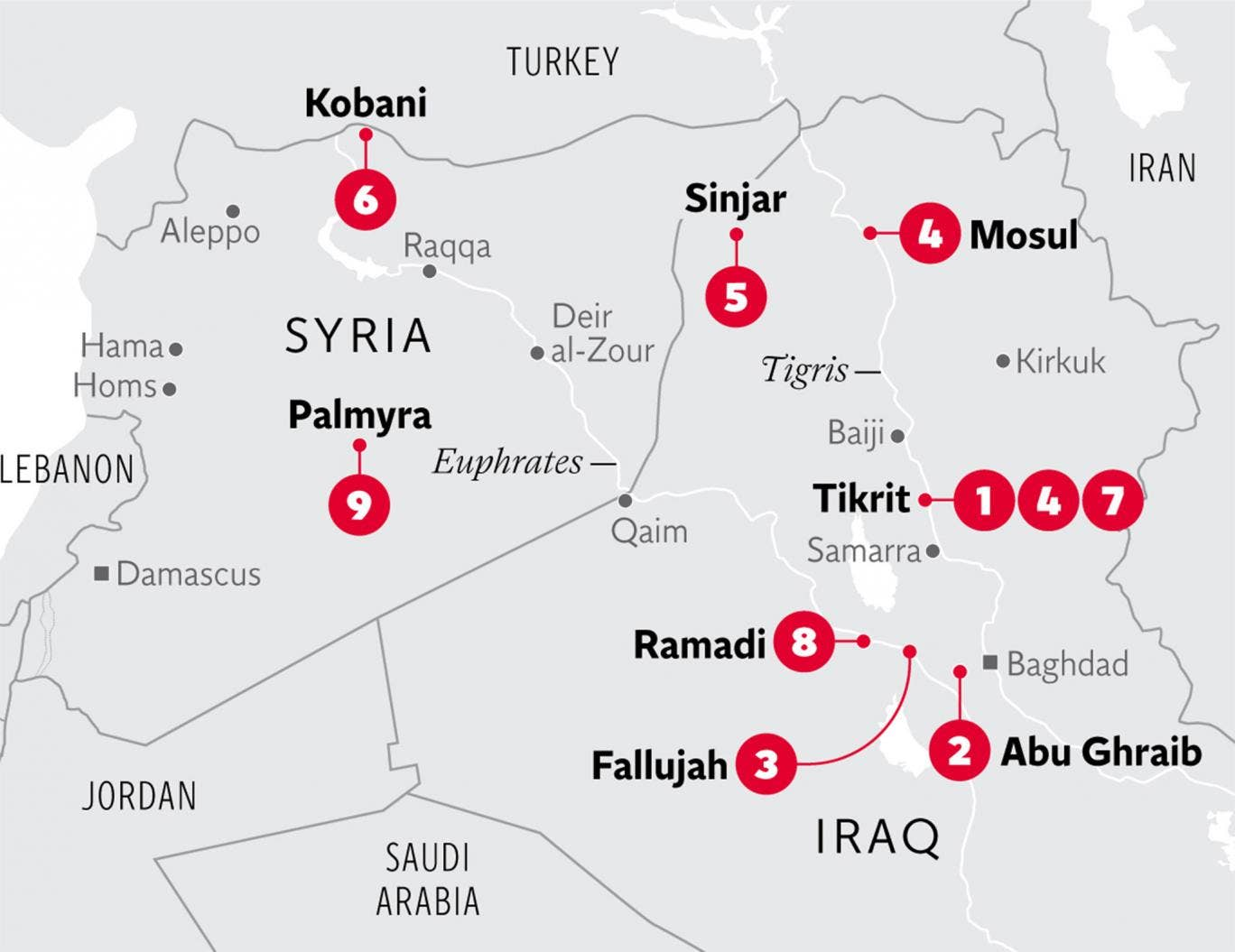 Isis A Year Of The Caliphate Seven Wars In Muslim Countries Wiring Diagram Nine Battles That Made What It Is