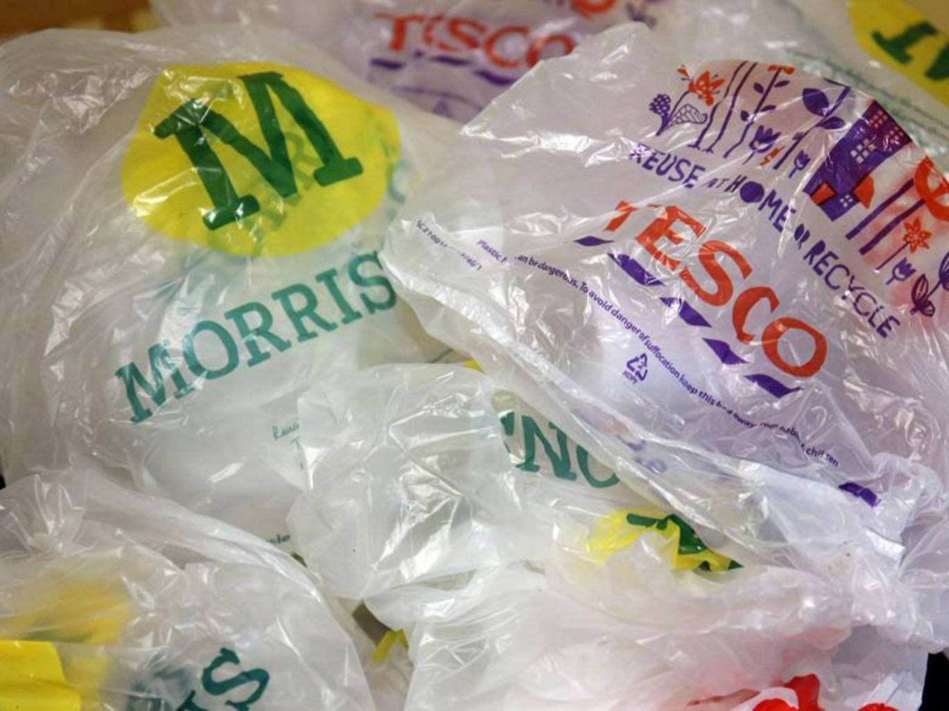 Image result for UK Plastic Bag Sales Fall 86% After Introduction of Extra Charge
