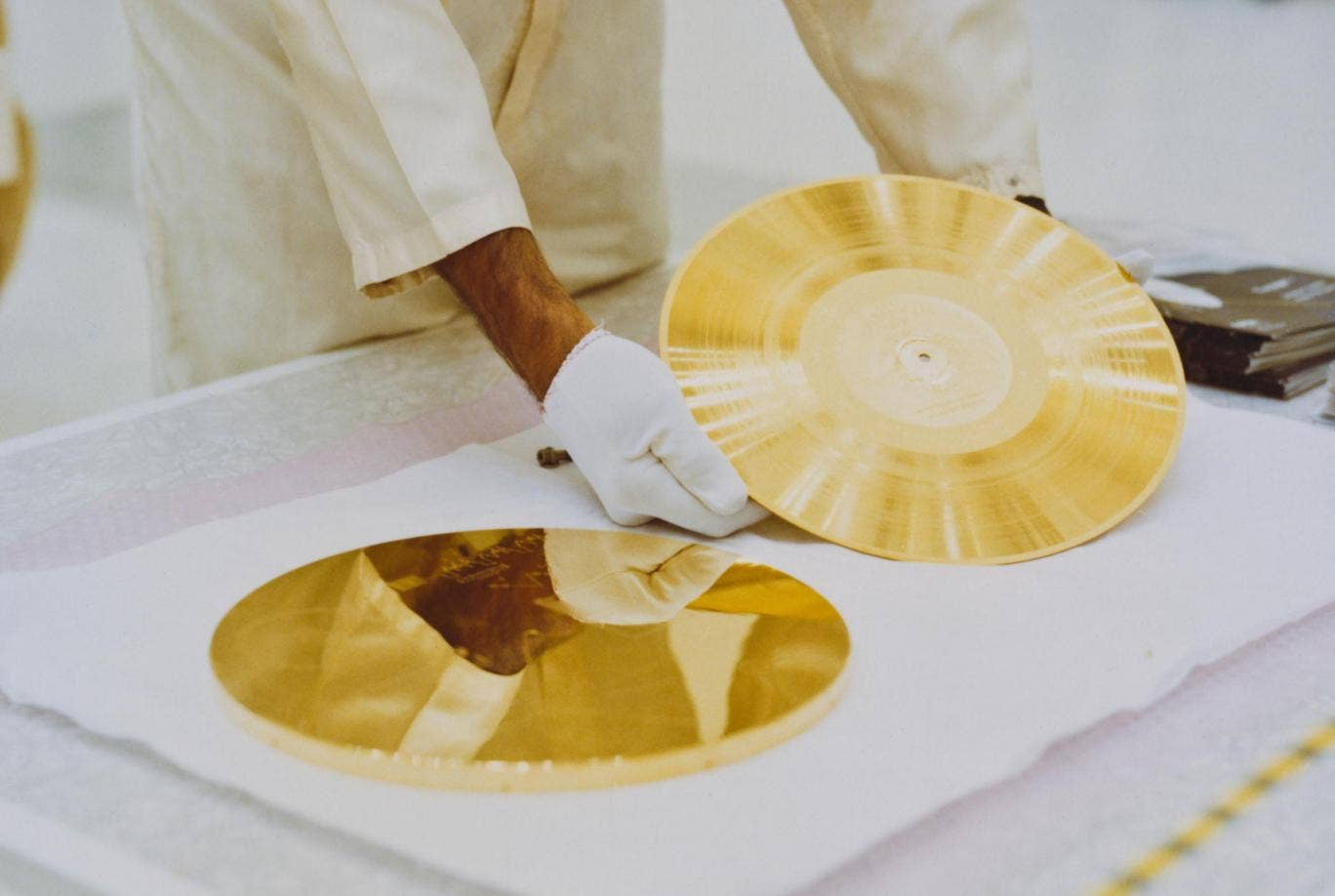 These are the images on the Voyager Golden Record that ...