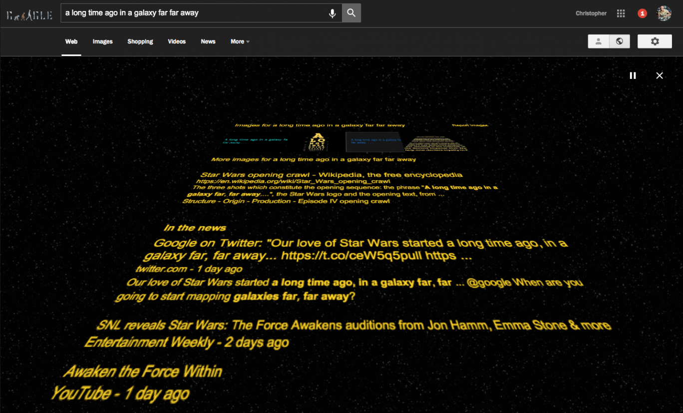 Google Has A Brilliant Star Wars The Force Awakens Easter Egg The Independent