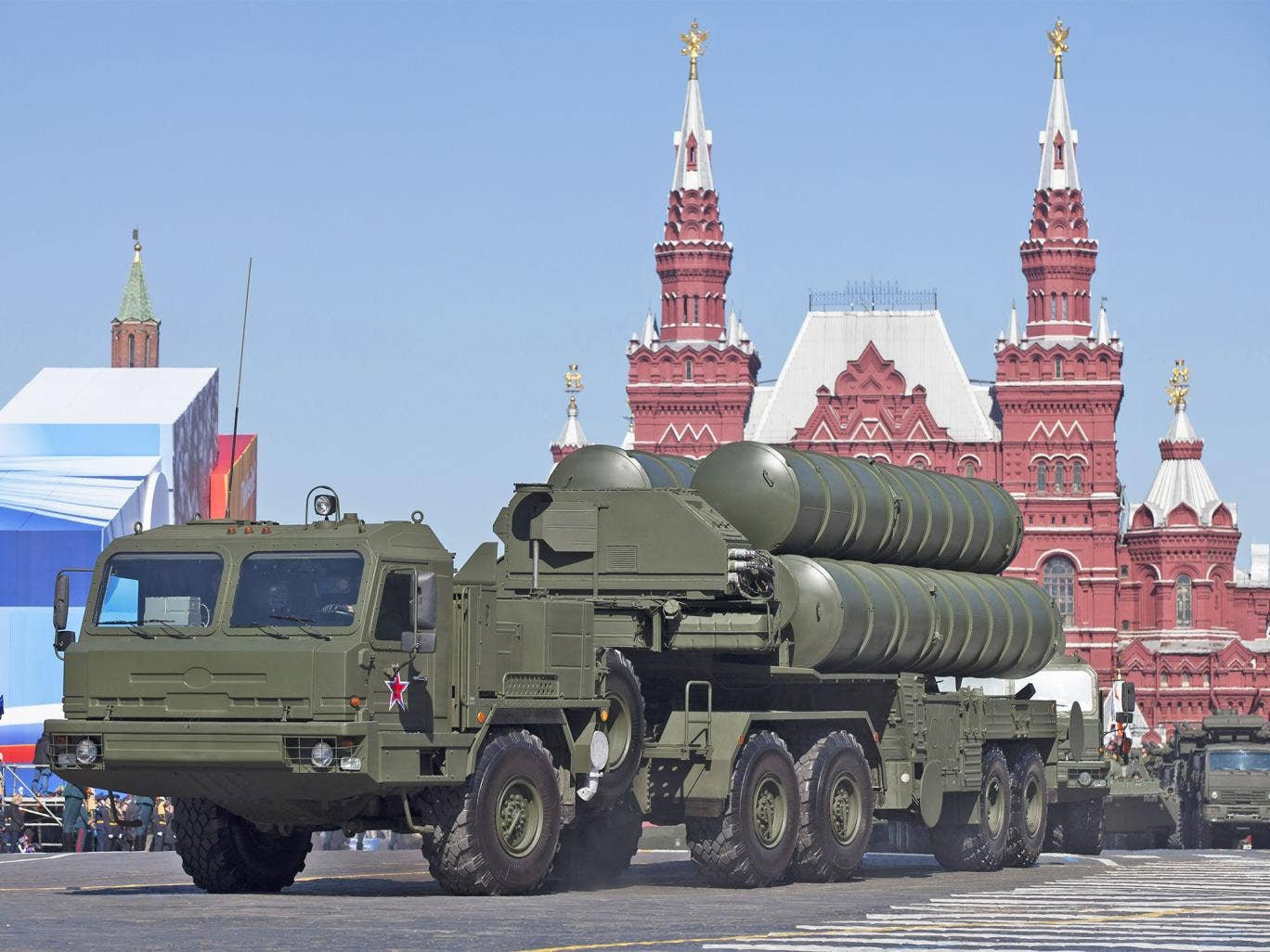 Russia's S-400 Missile and Putin's Iron Dome