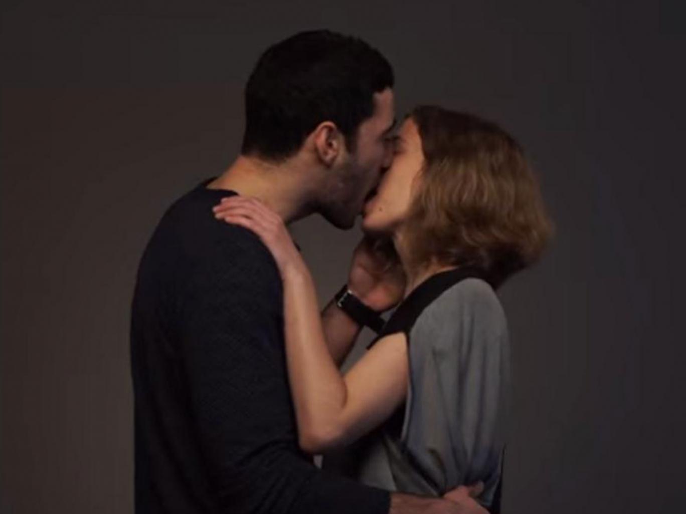 Arabischer Kuss