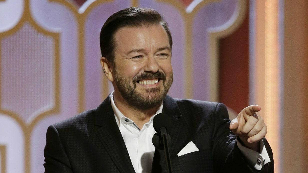 Ricky Gervais on Aging, Offending People, and His Netflix Special Humanity' pics