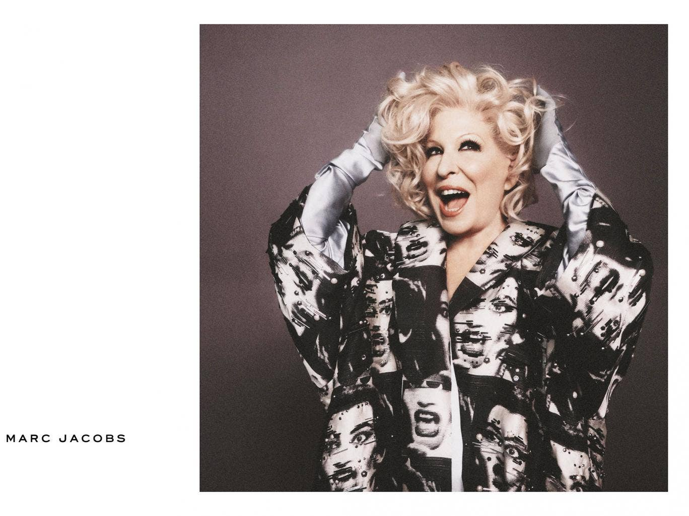 Bette Midler features prominently in Marc Jacobs' spring/summer 2016 campaign