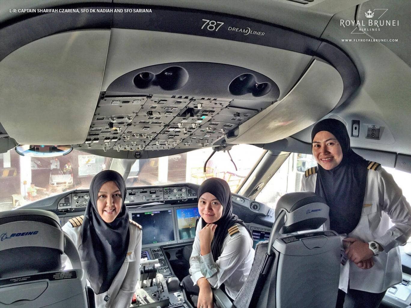 All-female flight lands in Saudi Arabia, aren't allowed to drive back from airport