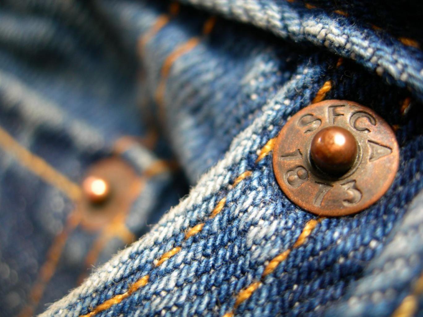 Kancing yang ada di celana jeans