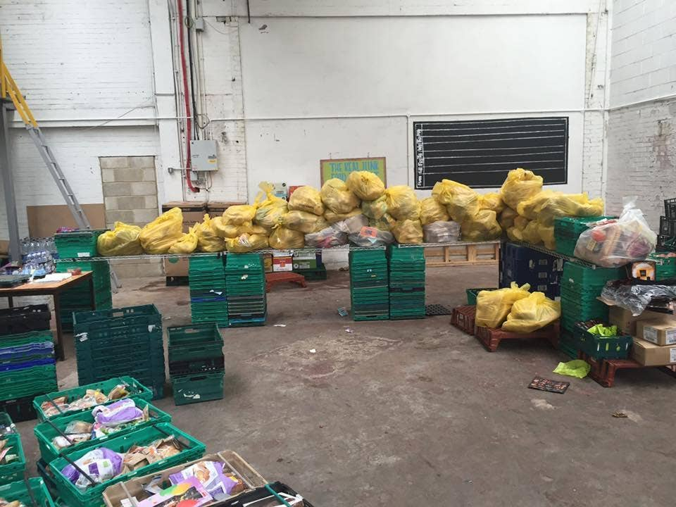 Food Waste Campaigners Save Hundreds Of Loaves Of Sainsburys Bread
