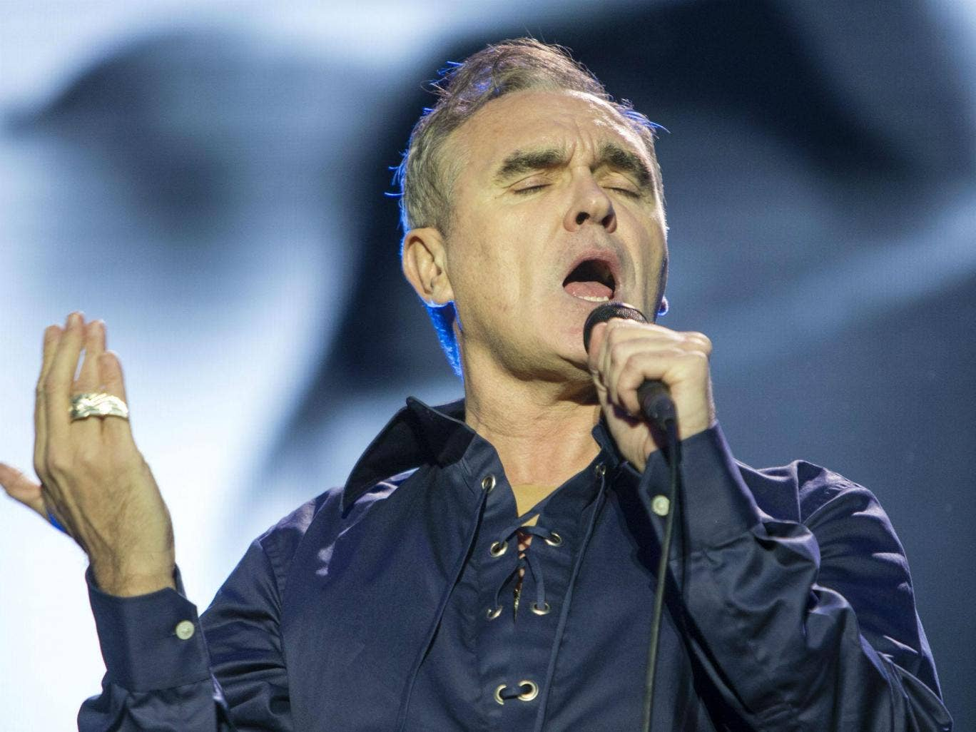 Morrissey lever pa gamla hits
