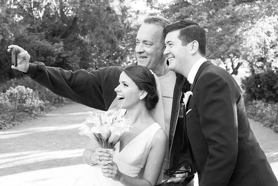 Tom Hanks wedding picture