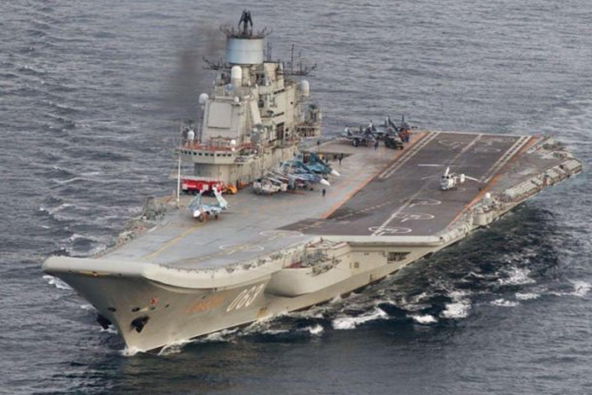 Admiral Kuznetsov (aircraft carrier): characteristics. Where is the aircraft carrier Admiral Kuznetsov 23