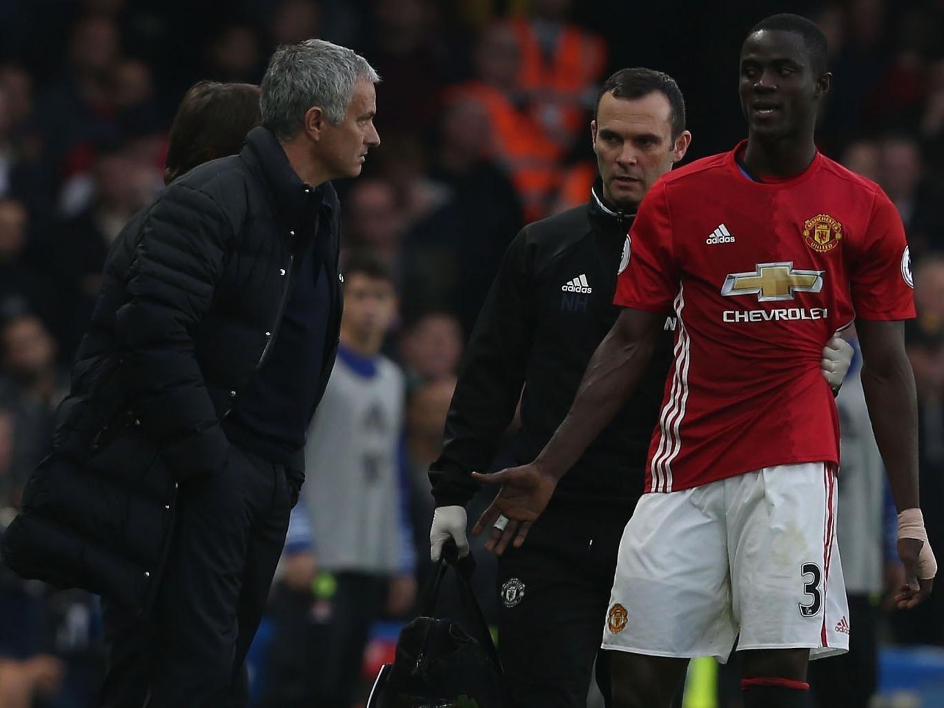 Mourinho nhận tin vui về quá trình hồi phục của Eric Bailly