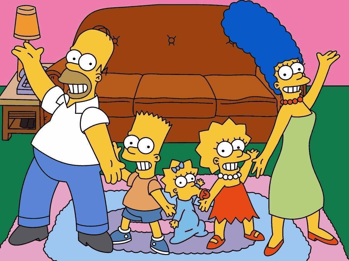 World-famous animated series, or how to draw the Simpsons