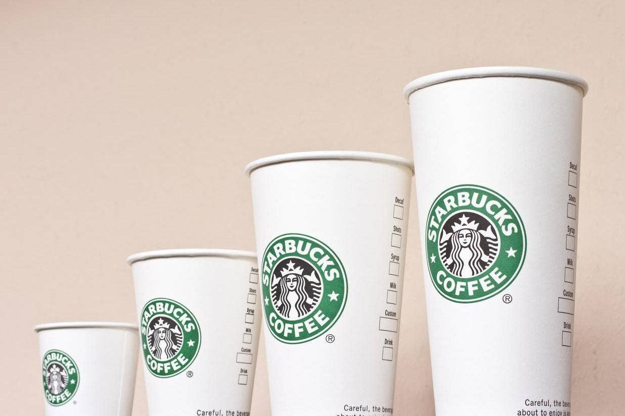 Why is Starbucks\' smallest drink called \'tall\'? It isn\'t as ...