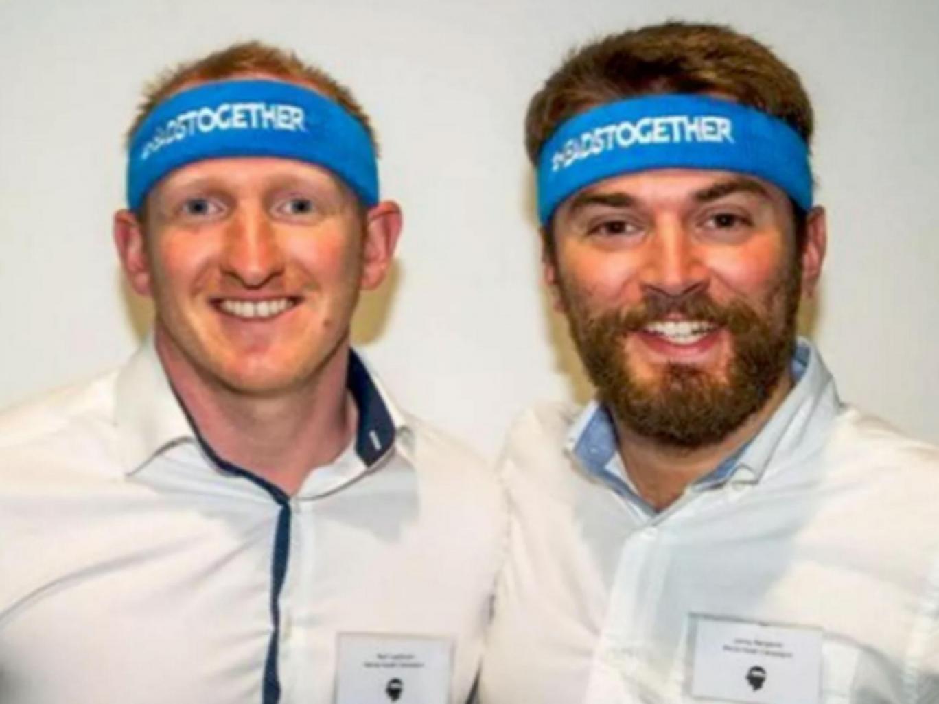 Man Runs London Marathon Alongside Stranger Who Saved His Life