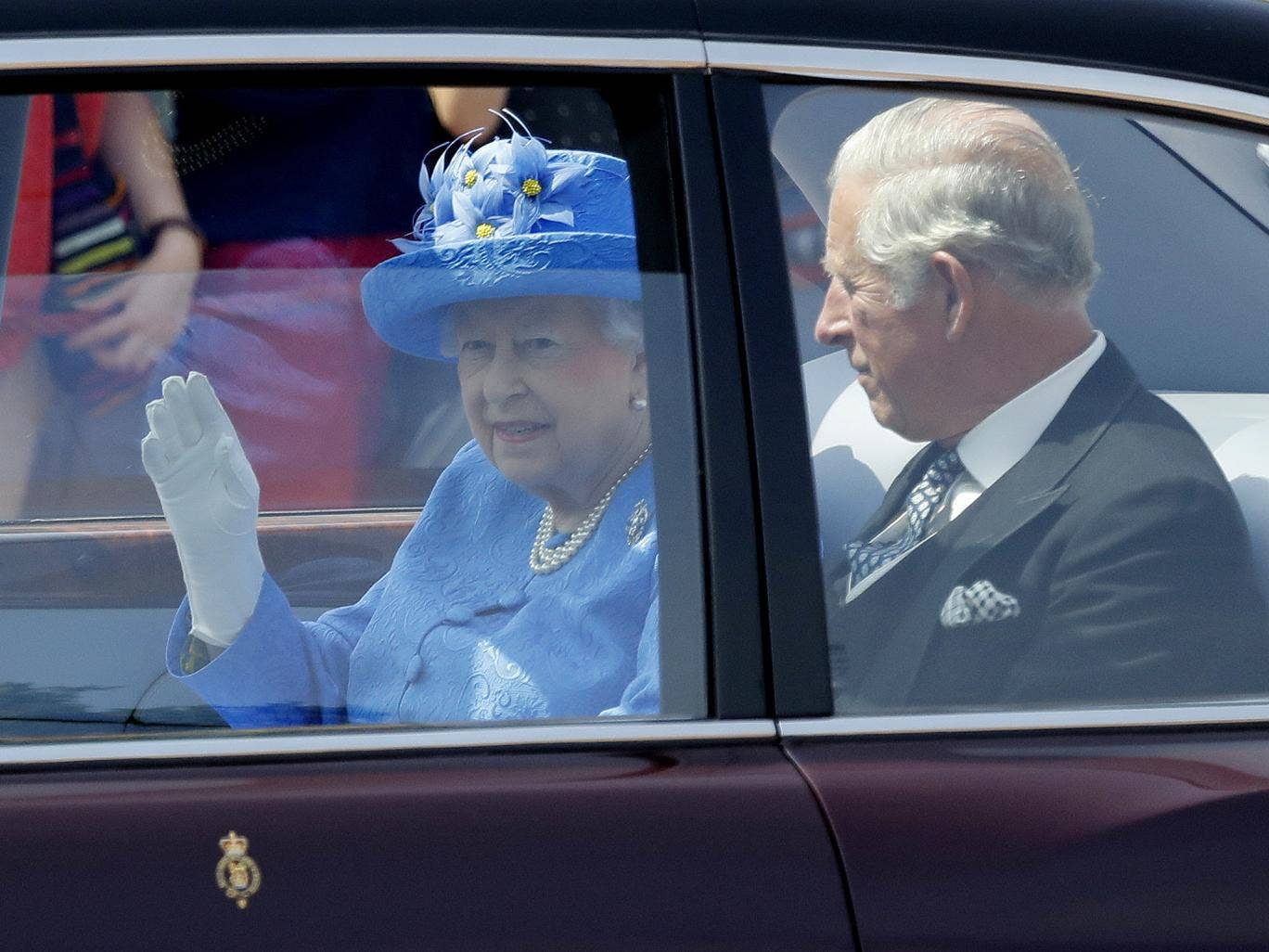 Queen Elizabeth II Reported To The Police For Not Using Seat Belt!