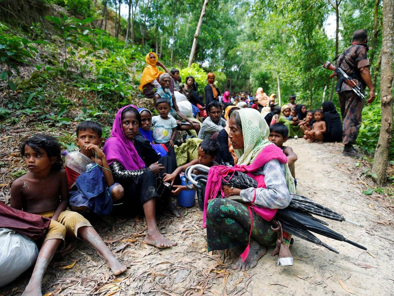 Army Killed A Baby In Crackdown On Rohingya Muslims Villager Claims
