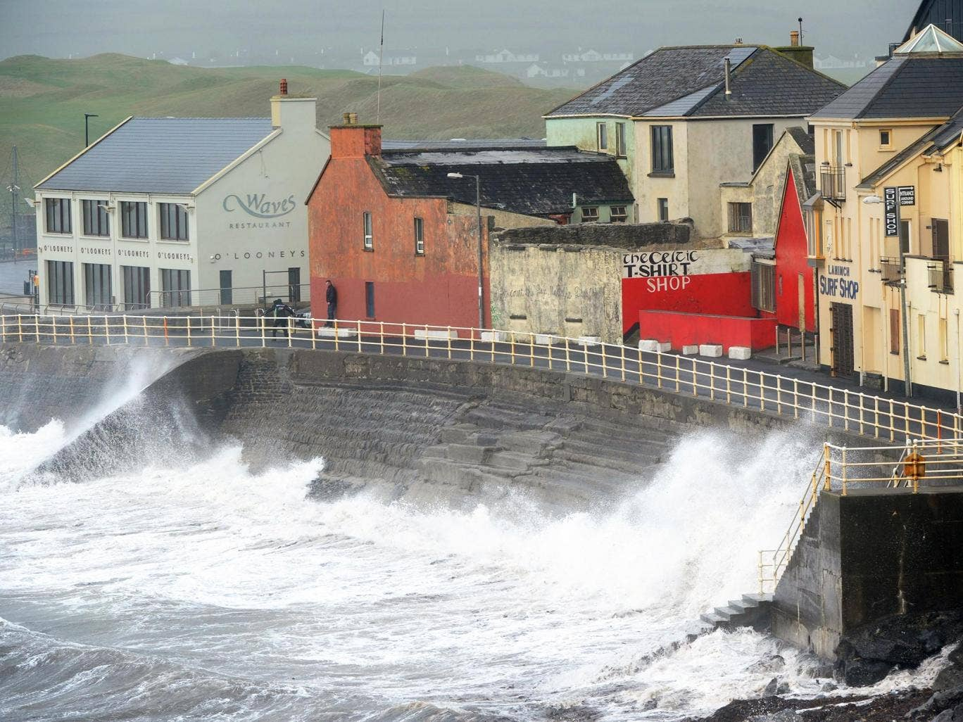 Ophelia: Storm kills three people as high winds wreak havoc across Ireland and UK