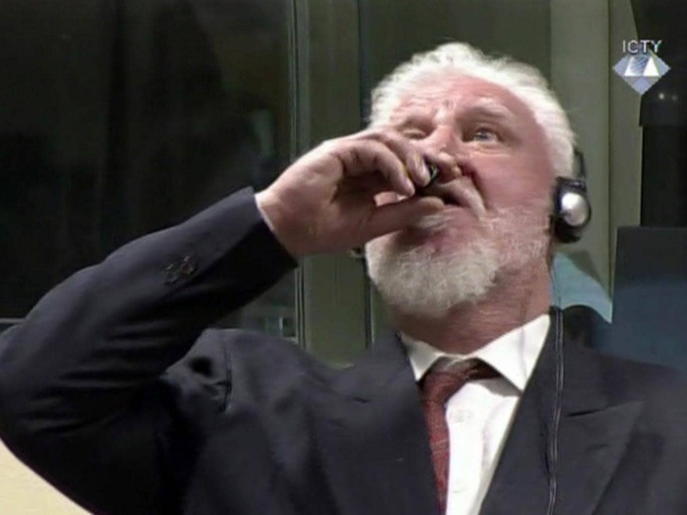 Slobodan Praljak Genocide >> Slobodan Praljak Death Bosnian Croat War Crimes Suspect Dies After