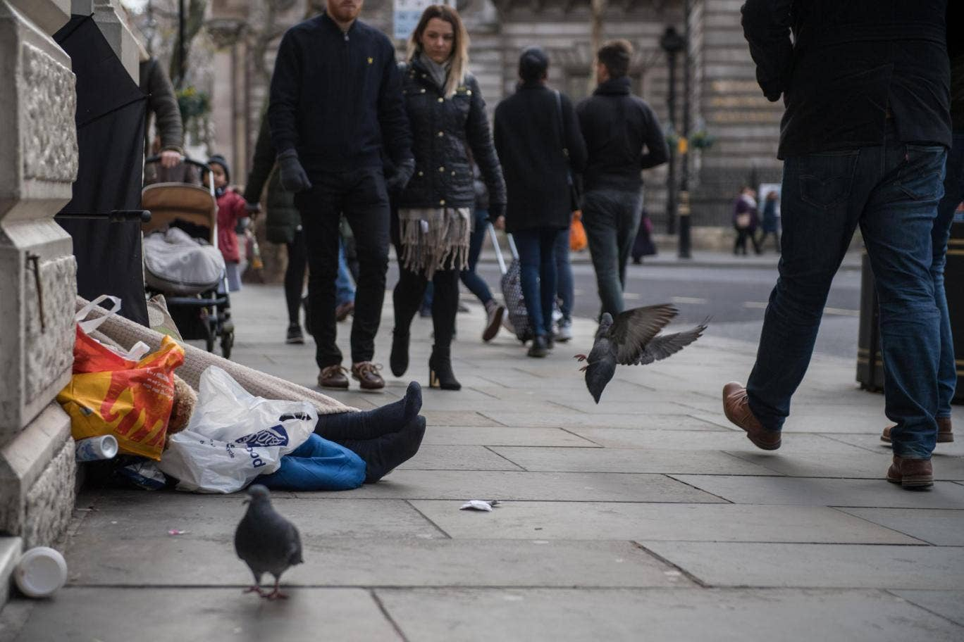 should we give homeless people money? | the independent
