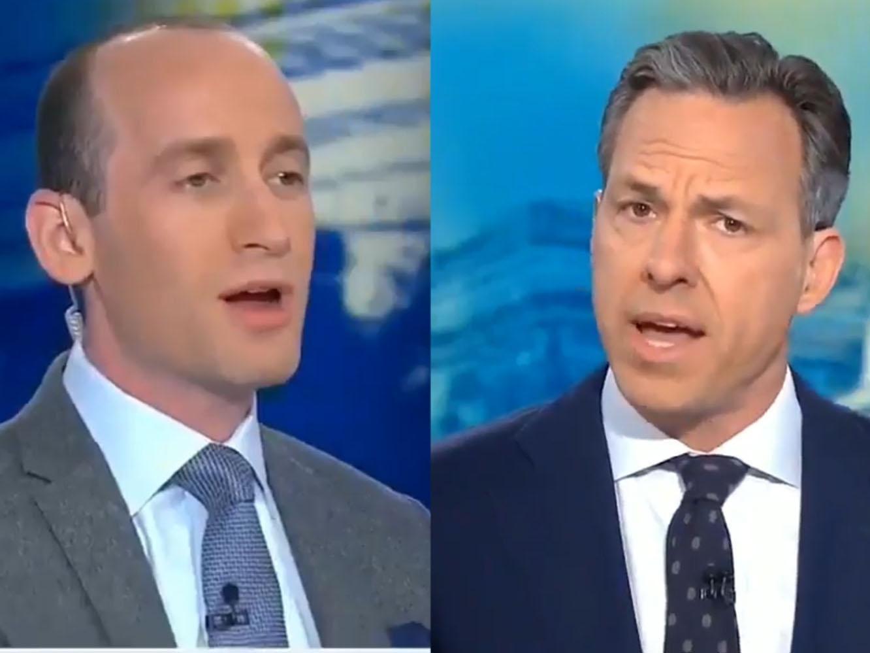 Leaked CNN transcript reveals Stephen Miller\'s off-camera argument ...