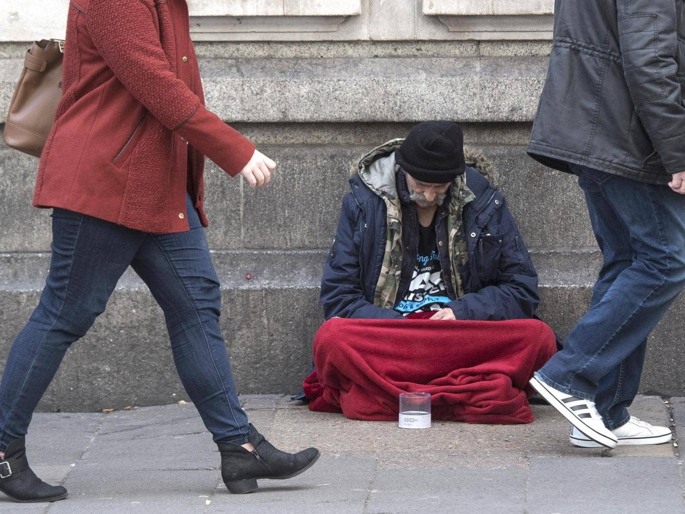 Ministry inspired by homeless people sleeping outside church